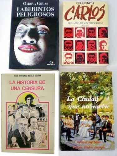 4 libros de lectura contemporánea venezolana