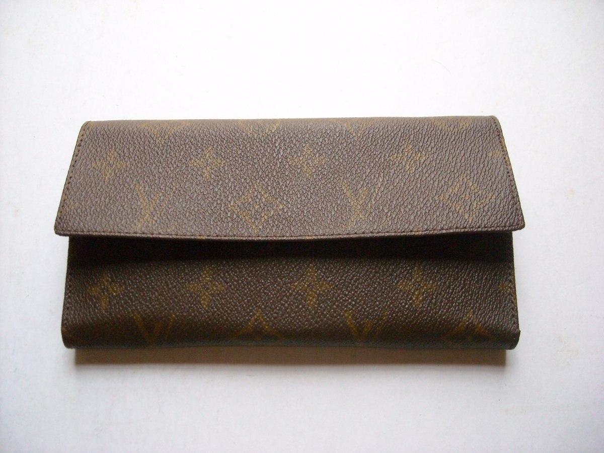 6304cf0a6 Billetera O Monedero De Dama Louis Vuitton Lv En Cuero - Bs. 16.700,00