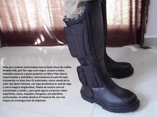 botas   policiales  !! originales swat !!   para motorizados
