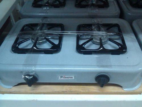 cocina a gas  2 hornillas portátil  nuevas