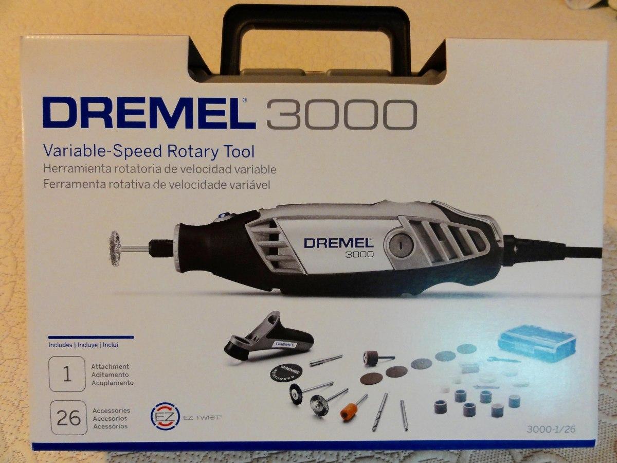 Dremel 3000 con 26 accesorios bs en mercado libre for Dremel 3000 accesorios