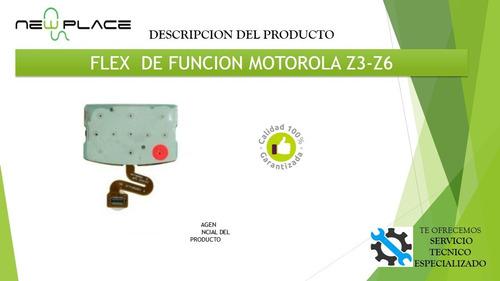 flex motorola z3-z6