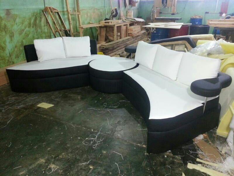 Juego de sala mueble sofa cama bs en for Mueble divan cama