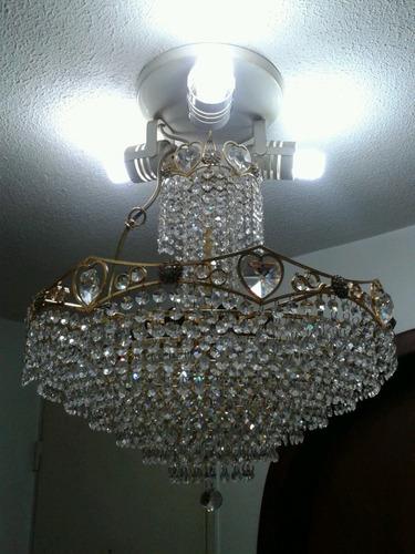 Lamparas Para Medio Baño:Lamparas De Cristal Swarovski Con Baño De Oro – Bs 299000,00 en