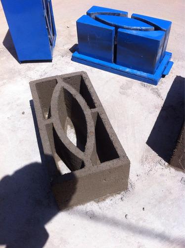 molde formaletas para bloque ventilación ojo de pes