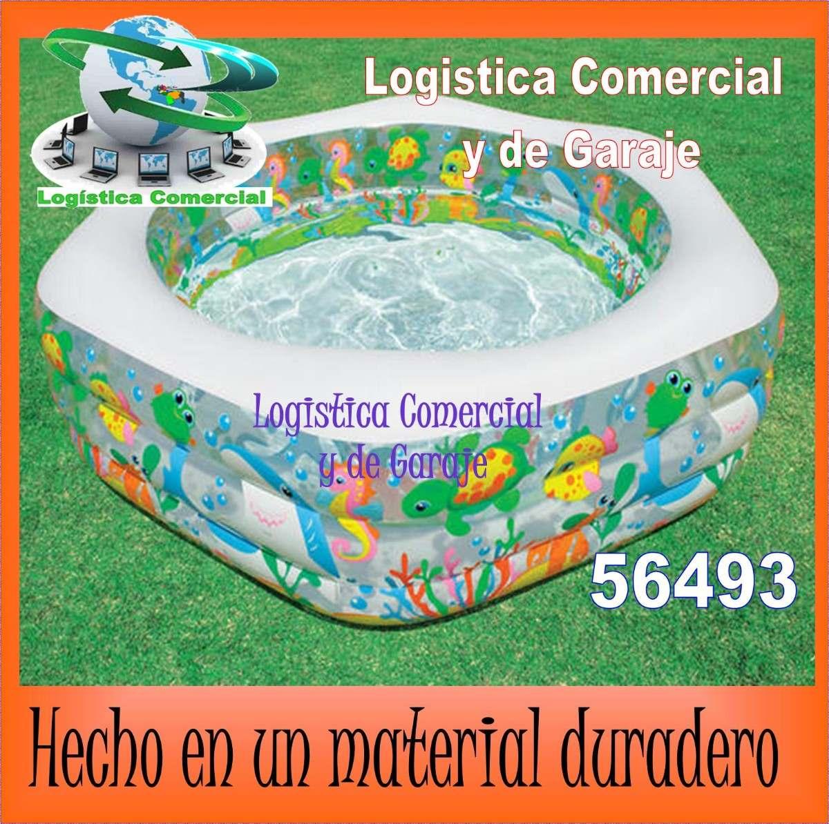 Piscina inflable acuario 56493 para ni os intex acolchada for Piscina inflable intex