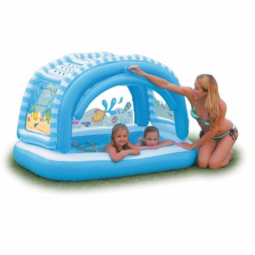 piscina inflable para ni os intex 57406 con parasol o