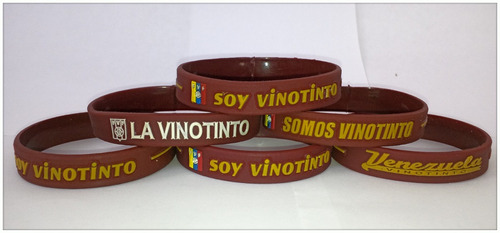pulseras de silicon venezuela la vinotinto tricolor vzla