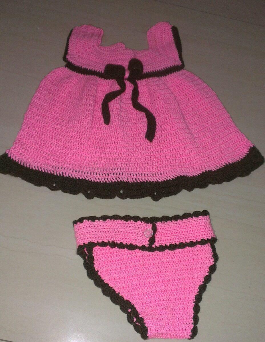 Lujoso Crochet Patrón De Vestido De Bautizo Bandera - Manta de Tejer ...