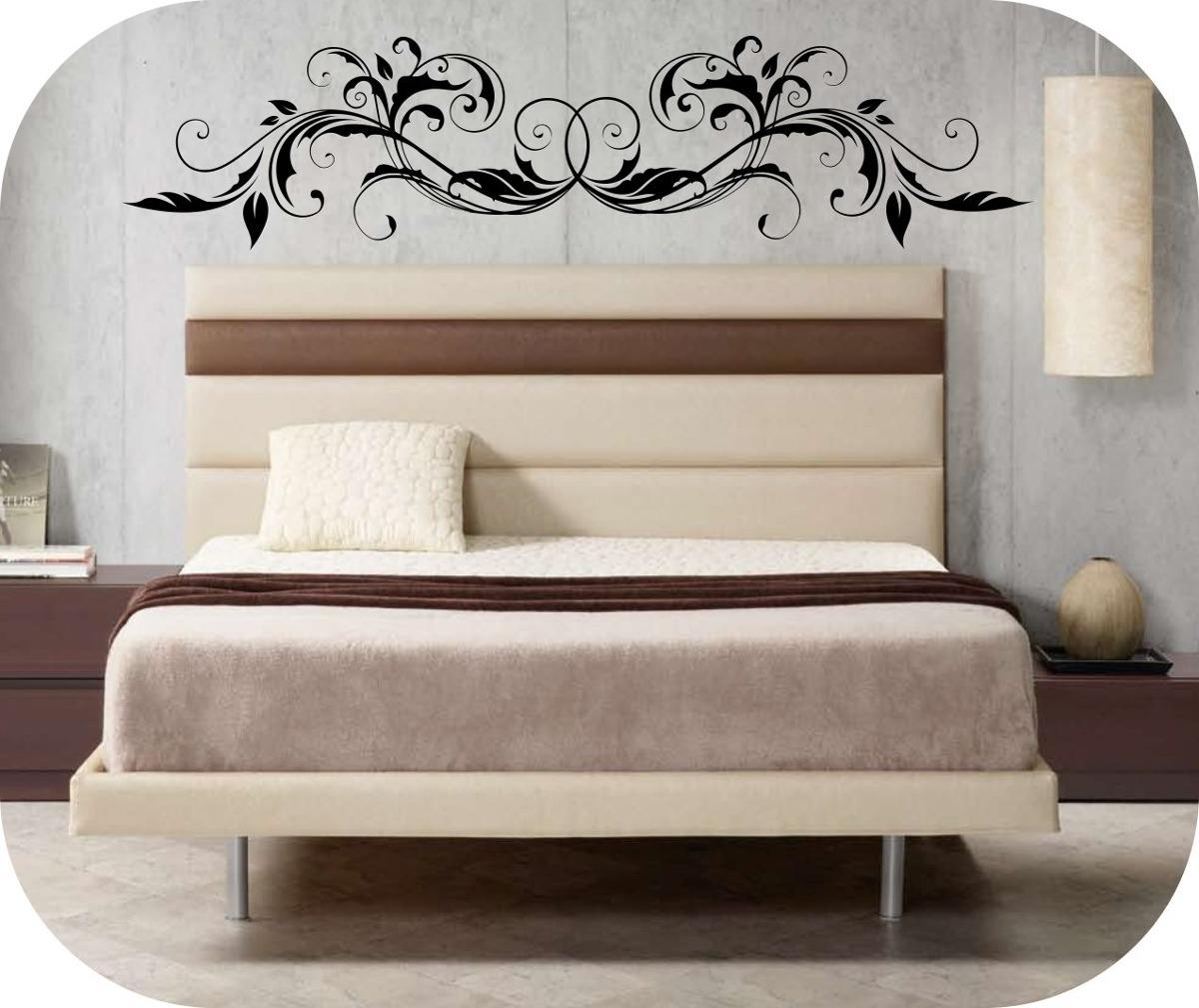 Vinilos decorativos cabeceros de camas decora tu pared - Vinilos de cabeceros ...